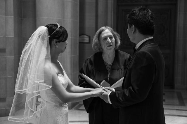 舊金山市政廳登記証婚流程